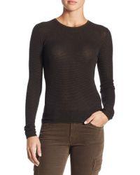 Vince - Skinny Cashmere Mallard Sweater - Lyst