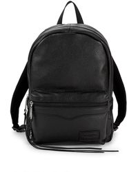Rebecca Minkoff - Top Zip Medium Leather Backpack - Lyst