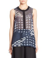 Public School - Cyra Sleeveless Top - Lyst