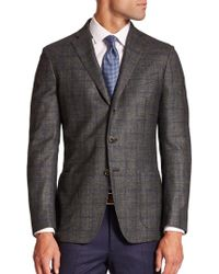 Saks Fifth Avenue - Check Sportcoat - Lyst