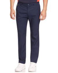Lacoste - Sport Golf Technical Gabardine Trousers - Lyst
