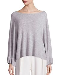Elizabeth and James - Freja Relaxed Heathered Sweater - Lyst