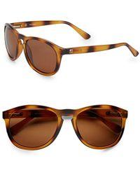 c52f35d7fe Sperry Top-Sider - Fenwick Round Sunglasses - Lyst