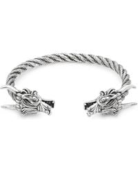 Perepaix - Dragon Cuff Bracelet - Lyst
