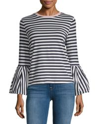 English Factory - Nautical Stripe Long Sleeve Top - Lyst