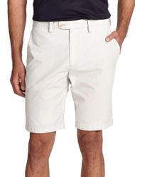 Saks Fifth Avenue | Pincord Bermuda Shorts | Lyst