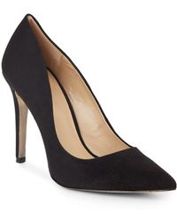 Saks Fifth Avenue - Cathy Suede Pumps - Lyst