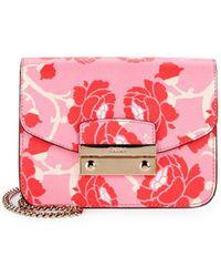 Furla - Julia Leather Mini Shoulder Bag - Lyst