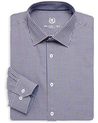 Bugatchi - Long Sleeve Woven Cotton Check Shirts - Lyst