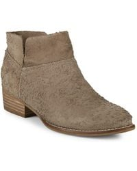 Seychelles - Jacquard Suede Booties - Lyst