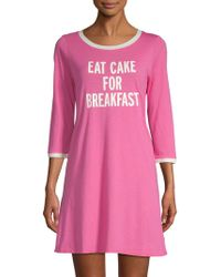 Kate Spade - Eat Cake For Breakfast Nightdress - Lyst