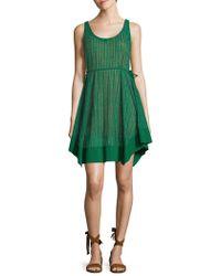 Plenty by Tracy Reese - Palm Stripe Slip Dress - Lyst