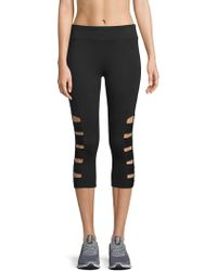Marc New York - Cutout Cropped Leggings - Lyst