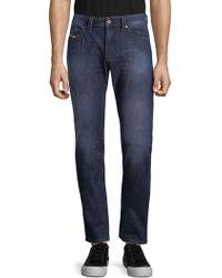 DIESEL - Faded Cotton Jeans - Lyst