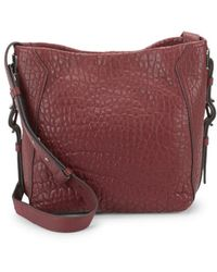 Vince Camuto - Fava Leather Crossbody Bag - Lyst