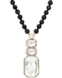 Heidi Daus - Ice Single Strand Pendant Necklace - Lyst