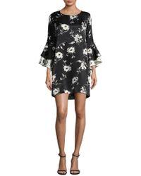 DELFI Collective - Alana Statement Sleeve Floral Dress - Lyst