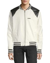 Members Only - Classic Racer Jacket - Lyst