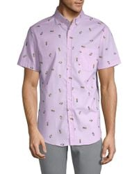 Sovereign Code - Crystal Cove Cotton Button-down Shirt - Lyst