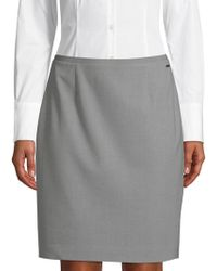 T Tahari - Bennet Pencil Skirt - Lyst