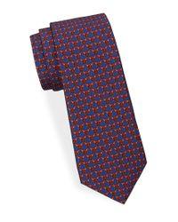 Saks Fifth Avenue - Paired Horsebit Silk Tie - Lyst