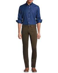 Ralph Lauren Blue Label - Regular-fit Checked Cotton Twill Button-down Shirt - Lyst