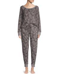 Carole Hochman - Two-piece Printed Pyjama Set - Lyst