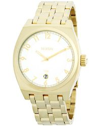 Nixon - Monopoly Two-tone Stainless Steel Watch - Lyst