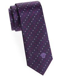 Versace - Silk Printed Tie - Lyst