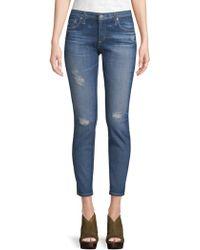 AG Jeans - Rev Super Skinny Jeans - Lyst