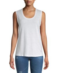 Balance Collection - Marisole Back Cut-out Tank Top - Lyst