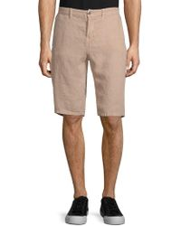 Original Paperbacks - Casual Linen Shorts - Lyst