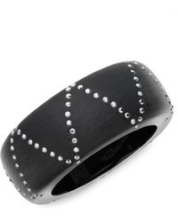 Alexis Bittar - Crystal-accent Bangle - Lyst