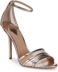 Aperlai - Metallic Ankle-strap Sandal - Lyst