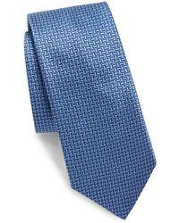 Saks Fifth Avenue - Woven Two Tone Silk Tie - Lyst