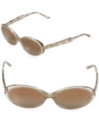 Vera Wang - 51mm Oval Sunglasses - Lyst