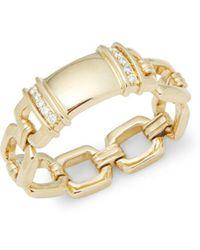 Kwiat - Diamond Tags Diamond & 18k Yellow Gold Fancy Ring - Lyst