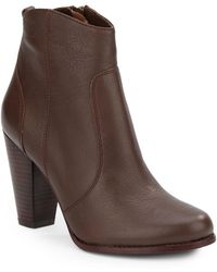 Joie - Dalton Leather Ankle Boots - Lyst