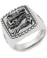 Effy - 925 Sterling Silver & Hematite Dragon Ring - Lyst