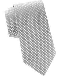 Armani - Woven Silk Tie - Lyst