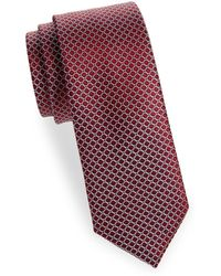 Saks Fifth Avenue - Print Silk Tie - Lyst