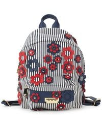 Zac Zac Posen - Stripe And Floral Backpack - Lyst