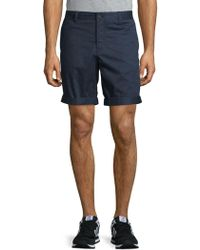 J.Lindeberg - Printed Buttoned Shorts - Lyst
