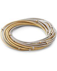 Alor - Classique 18k Gold Multi-strand Bangles - Lyst