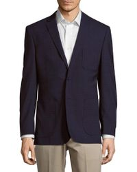 English Laundry - Modern Fit Wool Subtle Plaid Sportcoat - Lyst