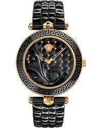 Versace - Vanitas Ceramic & Ip Stainless Steel Bracelet Watch - Lyst
