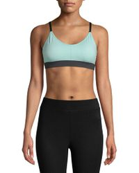 Just Live - No Holds Barre Sports Bra - Lyst