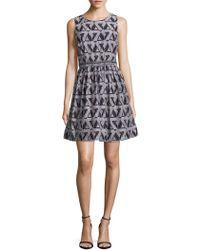 Julia Jordan - Roundneck Sleeveless Dress - Lyst