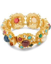 Ben-Amun - Crystal And Semi Precious Bracelet - Lyst