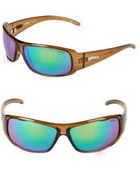 Revo - 66mm Wrap Sunglasses - Lyst